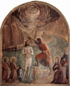 The Baptism of the Lord, Fra. Angelico, OP