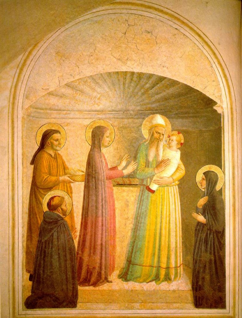 The Presentation of Lord, Fra. Angelico, O.P.