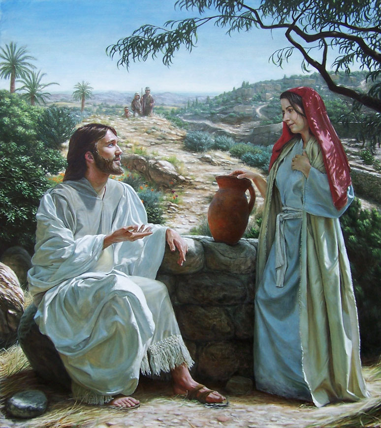 jesus and he samaritan woman essay Examination of the implications of the story of samaritan woman at the well and her encounter with jesus.