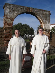 Novices on their Southern Tour of the Province
