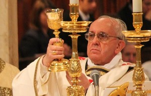 Pope_Francis_celebrates_Mass_at_the_Basilica_of_St_John_Lateran_on_April_7_2013_Credit_Stephen_Driscoll_CNA_3_CNA_4_8_13
