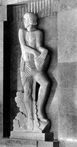 The Sower by Eric Gill
