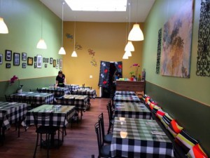 Interior of Lime Tree on Clement Street