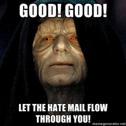 Ding! You've got hate mail! | Scratchpad Reflections by Brother Daniel