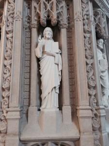 Christ the Teacher, ambo of St Dominic's Catholic Church