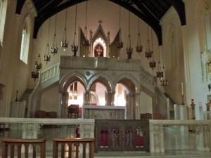 Sanctuary, Corpus Christi Monastery, Menlo Park